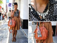 It's me! New York Street Fashion - Street Style | Everywhere - @DailyCandy