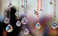How To Hang Crystals in Windows for Good Feng Shui: Feng shui crystals are used for a variety of purposes. You can hang a feng shui crystal sphere in a sunny window to attract auspicious energy, or use it as a feng shui cure to dispel negative feng shui energy in a dark corner or a long hallway.