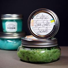 Foaming Celtic Sea Salt Scrub DIY