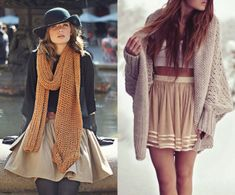 The Perfect Fall Pairing: Sweaters & Skirts