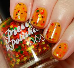 Let Them Have Polish! Pretty and Polished: Leaf me Breathless