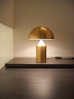 Oluce - Table lamps : Atollo - 233 oro