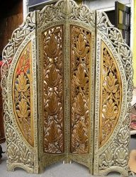 Код товара: SH29 поставка ожидается Мебель из Индии: Индийская ширма Room Divider Screen, Room Screen, Baroque Furniture, Vintage Furniture, Room Deviders, Arabesque, Art Nouveau Interior, Dressing Screen, Decorative Screens