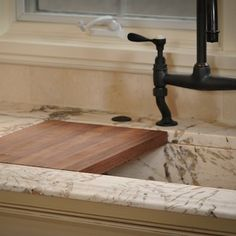 Custom Sinks and Cutting Board
