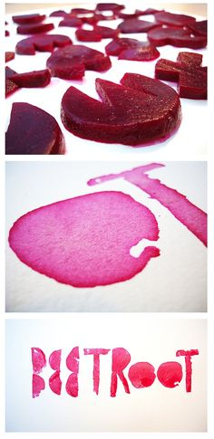 beetroot (some things scream your name)