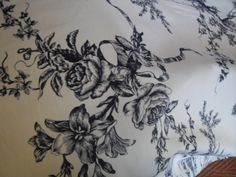 Blue and White Toile