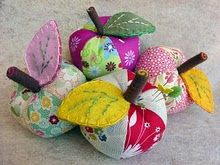 I wish I was fabric crafty; I'm more paper crafty. Maybe one day I'll need multiple pin cushions . . .