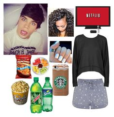 """""""Watching movies with Hayes Grier"""" by zeniboo ❤ liked on Polyvore featuring Topshop and T By Alexander Wang"""
