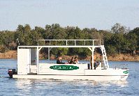 Welcome to Mvuu Lodge There's tranquillity in the African Bush that creeps up unexpectedly and nestles in your soul. Tigers Game, Great Places, River, Cruises, Boats, Fishing, Boating, Ships, Fishing Rods