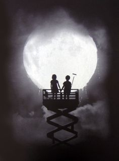 'stay up forever' by john doe. would love to get my hands on one of these prints. #want Surrealism Photography, Art Photography, Sombra Lunar, Luna Moon, Moon Shadow, Sun Moon Stars, Moon Pictures, Good Night Moon, Moon Magic