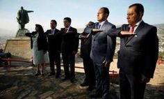 Fiscalía General de Oaxaca realizó el izamiento de la Bandera Nacional