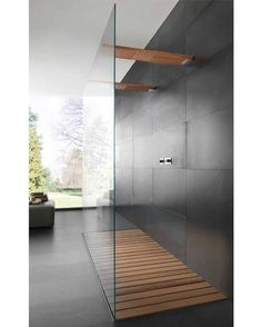 Modern Shower #shower #interior #interiors #interiordesign #design #architecture #bathroom