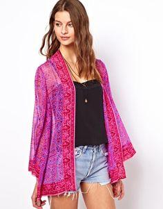 Silk Chiffon Avanti Jacket
