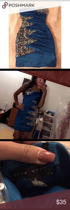 Homecoming dress Size small, 3 Homecoming dress worn exactly twice Dresses Midi