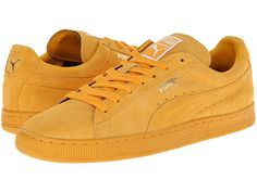 PUMA Suede Classic Gold Fusion/Team Gold - Zappos.com Free Shipping BOTH Ways