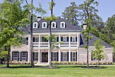 House Plan 77818 | Plantation Plan with 5120 Sq. Ft., 5 Bedrooms, 6 Bathrooms, 3 Car Garage