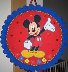 Fiesta Mickey Mouse, Mikey Mouse, Red Butterfly, Mickey Birthday, Cake Smash, Crafts To Make, First Birthdays, Party, Diy