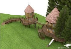 Hogwarts inspired tree house