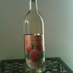 Glenora Winery AMAZING peach wine - perfect on a hot summer day.