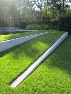 jardin en pente, aménagement de jardin en pente