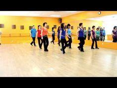 Summer Celebration - Line Dance (Dance & Teach in English & 中文) - YouTube