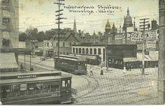 https://flic.kr/p/dJyGXp | Photoette 10572 -- Interurban Station. Lansing, Michigan, June, 1910. | Card was postmarked January 1, 1911.