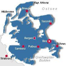 Rugen, prachtig eiland. Binz is wel één van de mooiste plaatsen. Noordkant is ruig en schitterend.