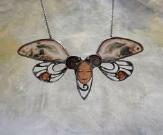Madam Buttefly / Zboží prodejce KB šperky | Fler.cz Moth, Insects, Jewelery, Jewelry, Jewellery, Jewelry Shop, Bugs, Jewel
