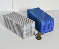 Shipping Containers (x2)
