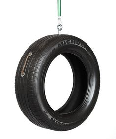Old-Fashioned Tire Swing
