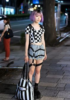 Japanese Street Style http://tupersonalshopperviajero.blogspot.com.es/2013/11/japanese-street-style.html