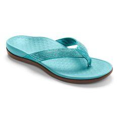 2e63e98ca5f5b5 Tide Rhinestones Toe Post Comfortable Flip Flops