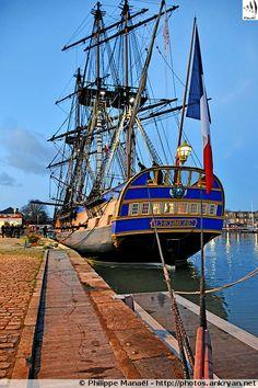 La frégate l'Hermione - La Rochelle (Charente-Maritime) - 01/02/2018