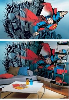 room ideas on pinterest superman boy bedrooms and superman bedroom