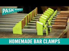 Homemade Bar Clamps