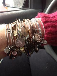 Alex and ani bracelet, alex and ani inspired, alex and ani bangles, alex and ani ideas Alex And Ani Bangles, Alex And Ani Jewelry, Bangle Bracelets With Charms, Cute Jewelry, Jewelry Accessories, Fashion Accessories, Fashion Jewelry, Jewelry Design, Turquoise