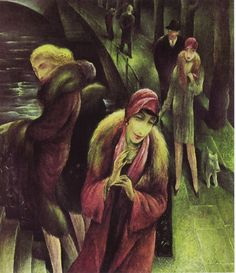 Jeanne Mammen,boot whores 1920