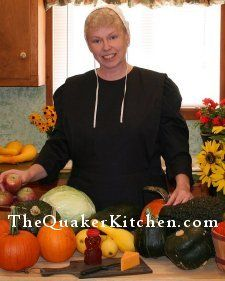 CREATING A STOCKED PANTRY ... Cooking with Quaker Anne, recipes from the Quaker Kitchen