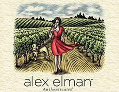 "Check out new work on my @Behance portfolio: ""Alex Elman Wine Label…"