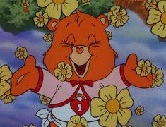 Secret Bear from Care Bears Movie 2 Cartoon Wallpaper, Retro Wallpaper, Aesthetic Iphone Wallpaper, Bedroom Wall Collage, Photo Wall Collage, Cartoon Profile Pics, Cartoon Pics, Care Bears Movie, Vintage Cartoons