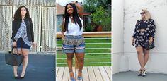 Shorts für mollige Frauen: Kräftige Oberschenkel