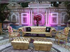 Events by Bill Special Events (Dallas, TX).  Party at the former Versace Mansion in Miami.