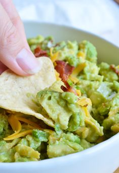 Guacamole just got even better with bacon, cheddar cheese and jalapeños. This…