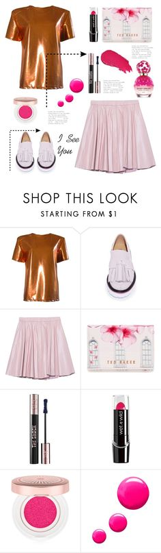 """""""i see you"""" by felicitysparks ❤ liked on Polyvore featuring FAIR+true, MSGM, 2NDDAY, Ted Baker, Yves Saint Laurent, Lancôme, Lumene, Topshop and Marc Jacobs"""