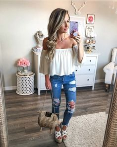 Pin by Mary Tian on Warm Outfits in 2019 Casual Bar Outfits, Warm Outfits, Cute Summer Outfits, Simple Outfits, Spring Outfits, Cool Outfits, Fashion Outfits, Vegas Outfits, Woman Outfits