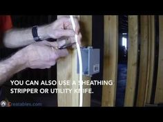 how to install a single pole switch youtube diy electrical rh pinterest com Basement Plan Wiring -Diagram Do It Yourself Basement Wiring
