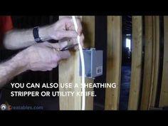 how to install a single pole switch youtube diy electrical rh pinterest com Basement Wiring Houston Texas Wiring a Basement Bathroom
