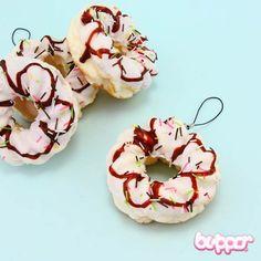 Squishy Sprinkles Doughnut Charm