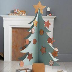 хороший картон аксессуар для ваших рождественских украшений, елки DIY учебник картонной мебели