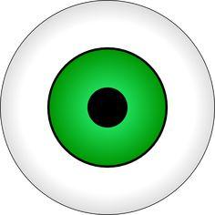 eye clip art | green eye clip art